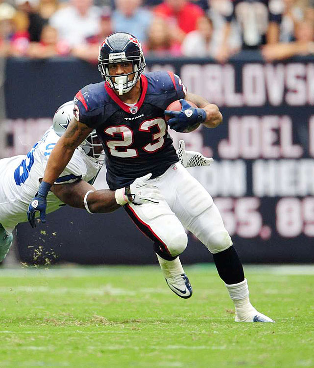 Arian Foster of the Texans is poised to propel Houston to another AFC South Title. (Source: sportsillustrated.cnn.com)