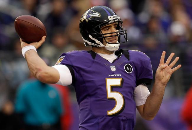 Despite leading the Ravens to the Playoffs in all 5 of his NFL seasons, no QB has received more criticism in 2012 than Baltimore signal caller Joe Flacco.   Can he finally lead the Ravens to the Super Bowl?Source: bleacherreport.com