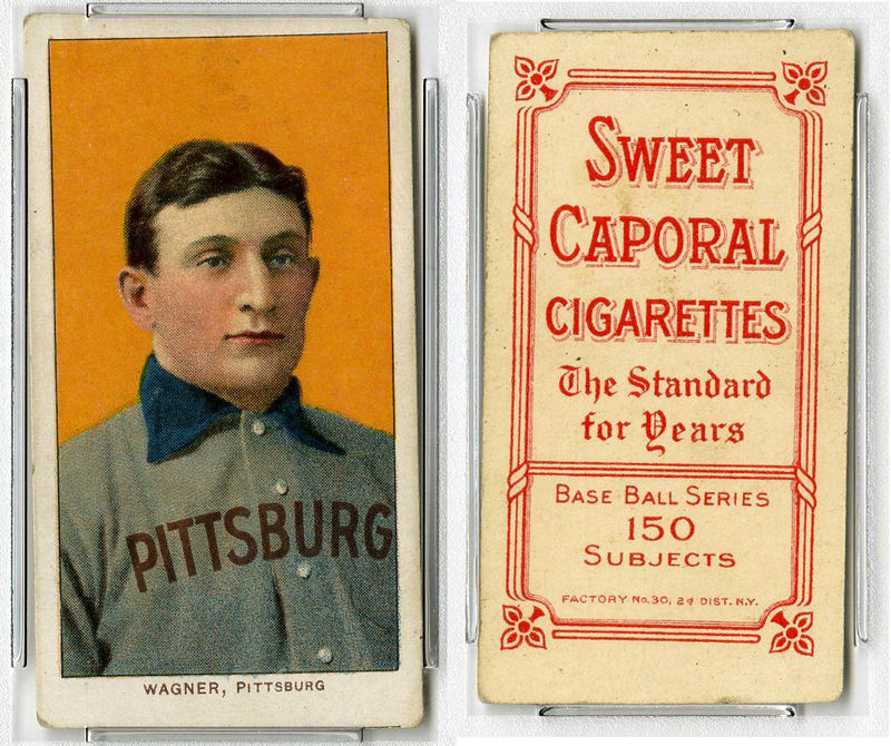 Honus Wagner source: antiquesandthearts.com